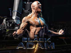 Dwayne Johnson wraps up 'Black Adam' shoot