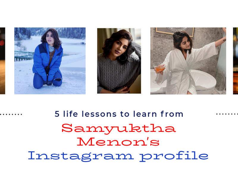 5 life lessons to learn from Samyuktha Menon's Instagram profile!