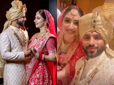 Rahul-Disha's 1st selfie as Mr & Mrs Vaidya
