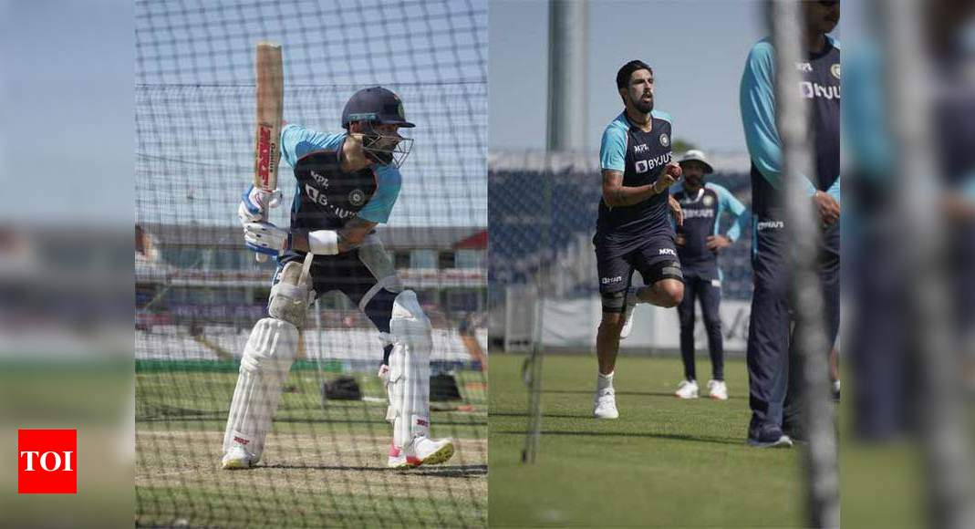 India vs England: Virat Kohli and boys get into the groove ahead of Test series | Cricket News – Times of India