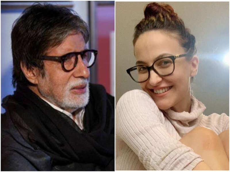 Elli AvrRam opens up on working with Amitabh Bachchan