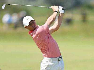 McIlroy's rollercoaster entertains crowds at British Open ...