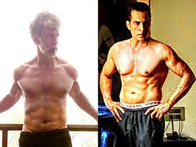 40 plus TV male actors with six-pack abs