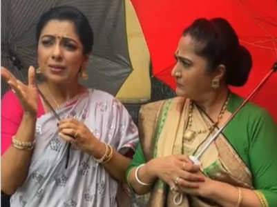 Rupali-Alpana enact a scene from K3G