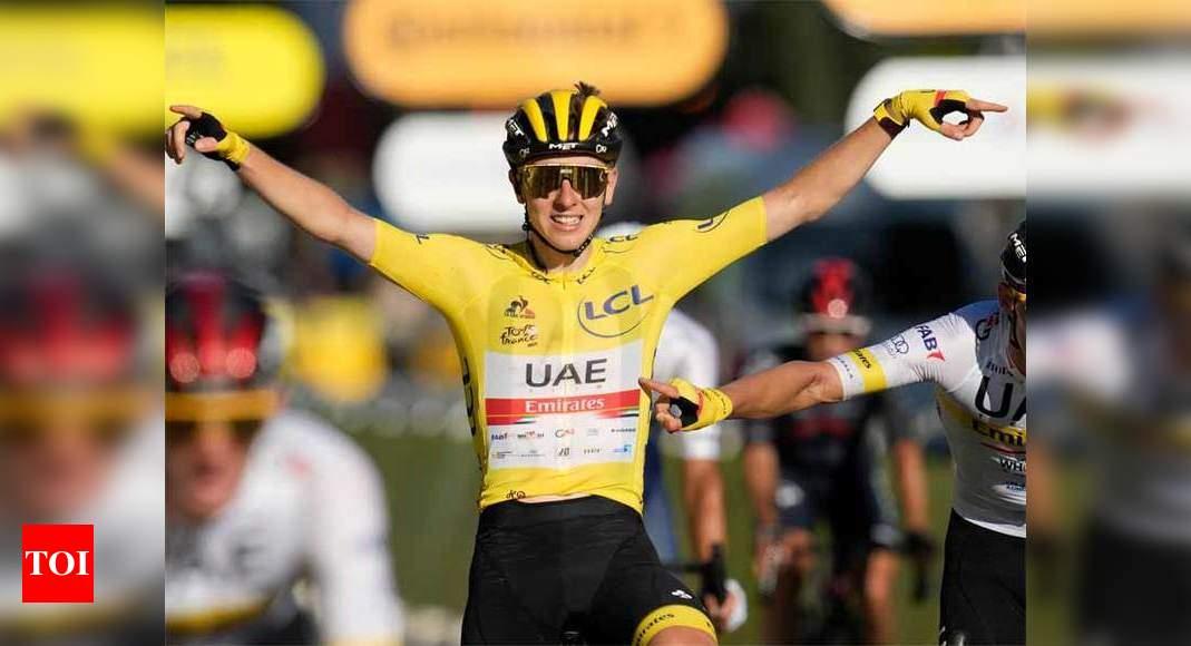 Tadej Pogacar wins second consecutive Tour de France title   More sports News – Times of India