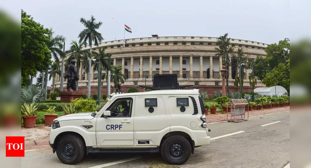 Parliament's monsoon session starts today: Key points   India News – Times of India