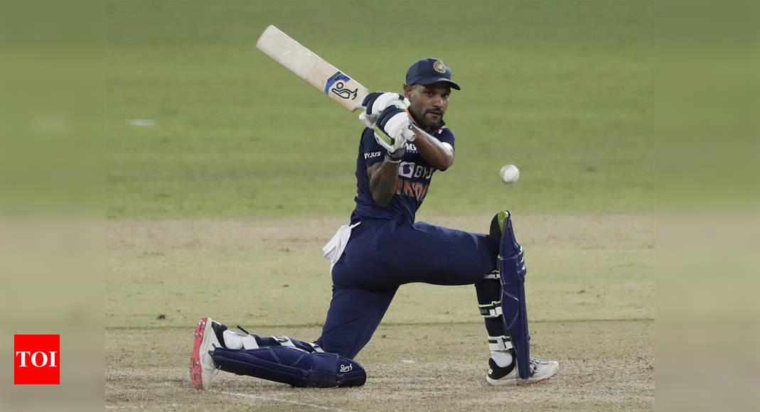 Shikhar Dhawan completes 10,000 runs as opener in international cricket | Cricket News – Times of India