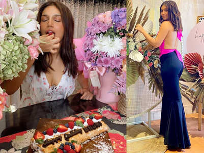Inside pics from Bhumi's b'day celebrations