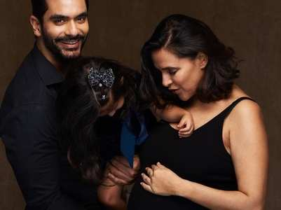 Neha-Angad Bedi to welcome second baby