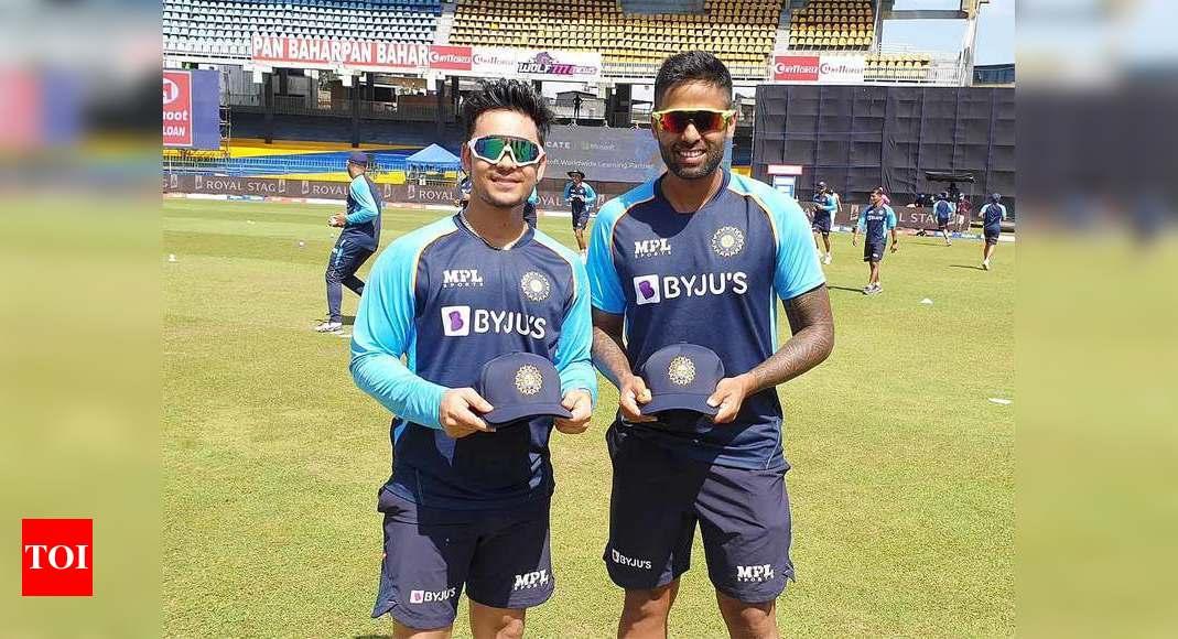 From Mumbai Indians blue to India blue for Ishan Kishan and Suryakumar Yadav | Cricket News – Times of India