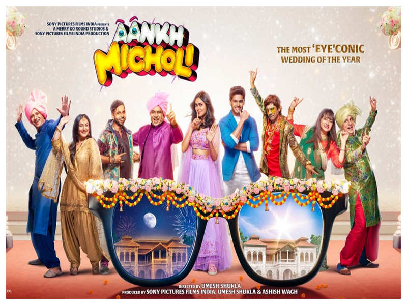 """'Aankh Micholi': Mrunal Thakur, Abhimanyu Dassani, Sharman Joshi and others come together for the most """"eyeconic"""" wedding of the year"""