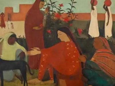 Amrita Sher Gil's artwork becomes the second most expensive Indian art globally