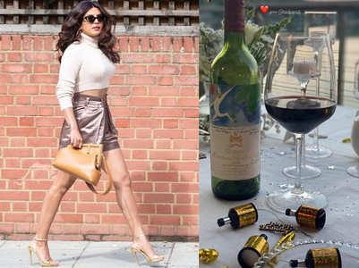Did Nick gift Priyanka an expensive wine?