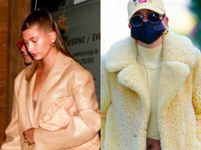 Hailey Bieber is the queen of oversized outfits