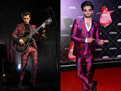 Ranveer vs Harry: Who wore it better?