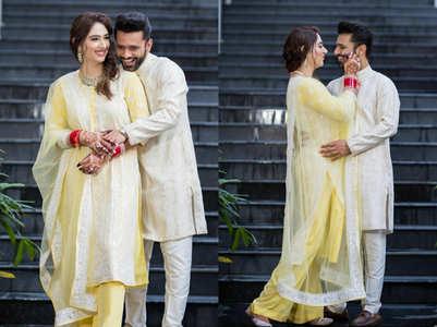 Rahul-Disha slay at post-wedding brunch