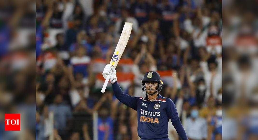 India vs Sri Lanka: I was determined to hit the first ball for six, says Ishan Kishan   Cricket News – Times of India