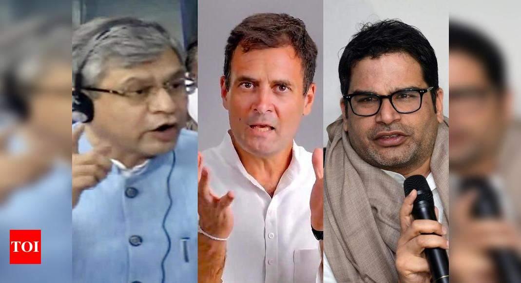 Two Union ministers, Rahul Gandhi, Prashant Kishor on Pegasus list: Report – Times of India ►