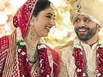 Unseen pictures from Rahul Vaidya and Disha Parmar's wedding you just can't give a miss!