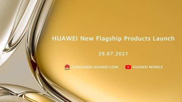 Huawei announces launch event for July 29, may unveil Huawei P50 series phones