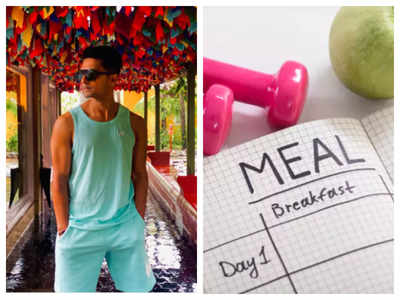 Actor Ravi Dubey shares his 30-day weight loss diet plan