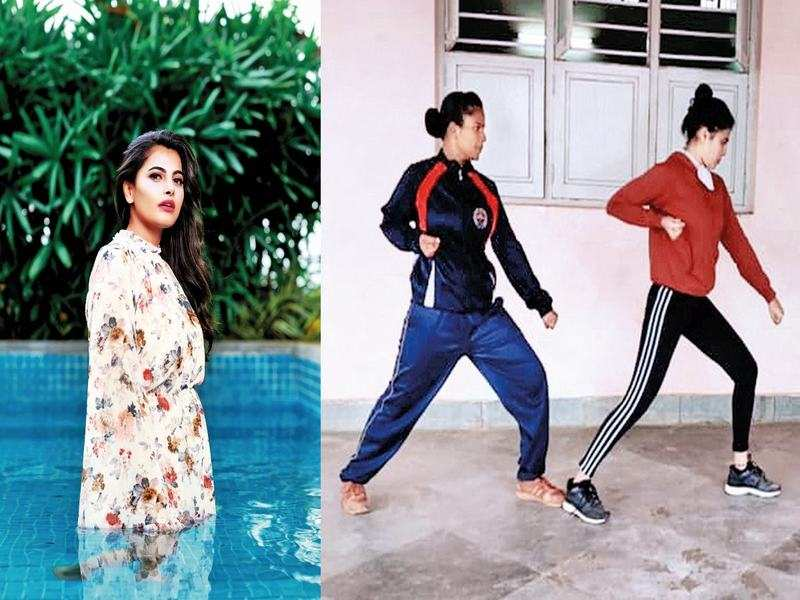 Paavana trains with real cops for her next