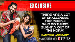 There are a lot of challenges for people who do things slightly out of the norm: Sahithya and Cary