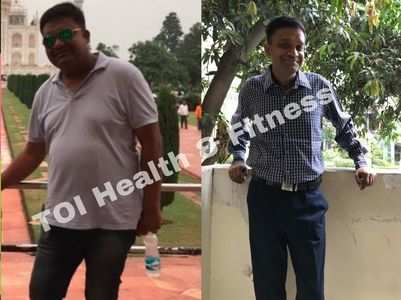 """I had protein-rich khichdi and lost 30 kilos"""