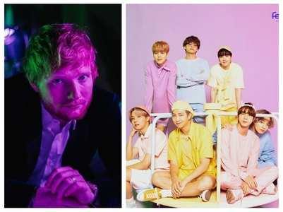 Ed Sheeran congratulates BTS & BTS ARMY
