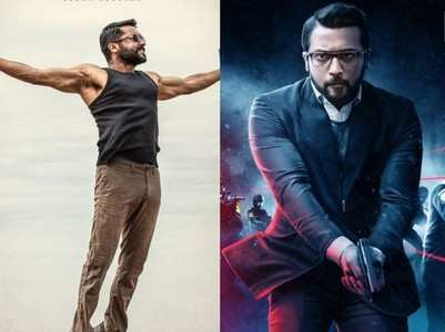 Latest 10 first look posters of Suriya