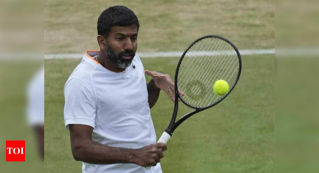 Unsavoury controversy needlessly generated due to irresponsible tweets: AITA on Bopanna issue   Tennis News – Times of India