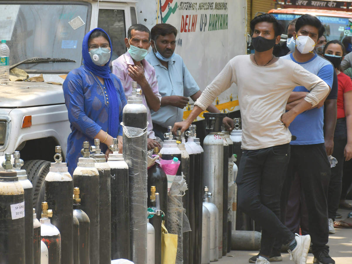 'No deaths due to lack of oxygen reported by states,' says Union Health Min