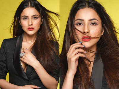 Shehnaaz Gill turns up the glam; see pics
