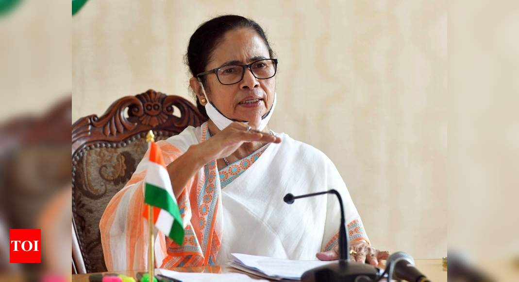 Mamata's July 21 address to be beamed in 32 districts in Gujarat | India News – Times of India