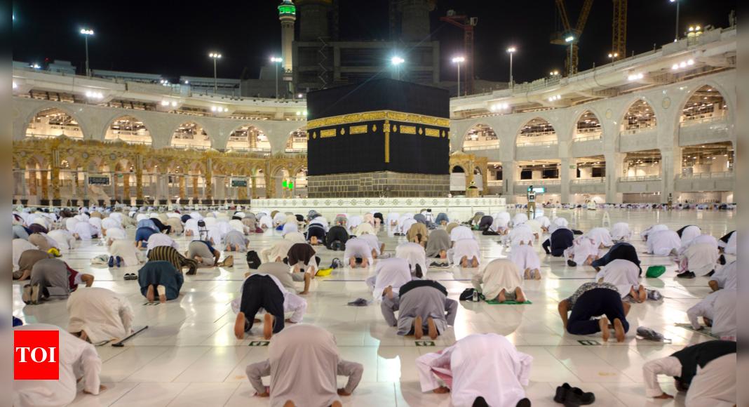 In Mecca, women set off on hajj as 'guardian' rule cast aside - Times of India