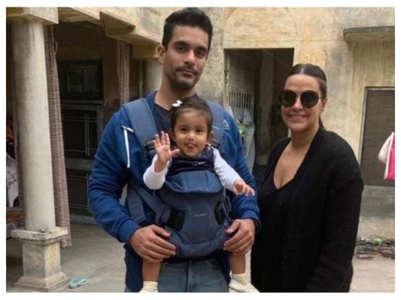 Angad: Mehr is excited to have a sibling