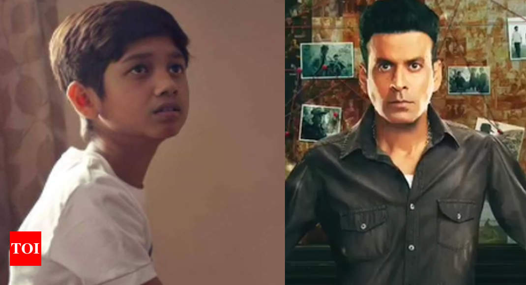 Manoj Bajpayee's son from 'The Household Man' idolizes Hrithik Roshan – Instances of India