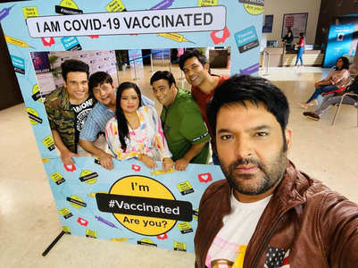 Kapil, Krushna and TKSS cast get vaccinated