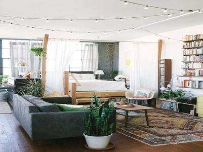 Tricks to make your studio apartment look spacious