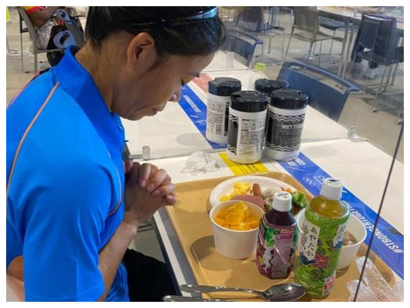 This is what boxer Mary Kom ate for breakfast at Tokyo Olympics