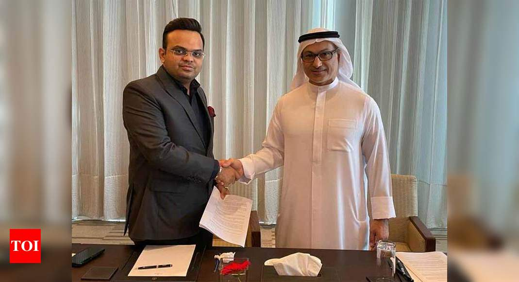 Taking IPL's remarkable journey to UAE again, says Jay Shah | Cricket News – Times of India