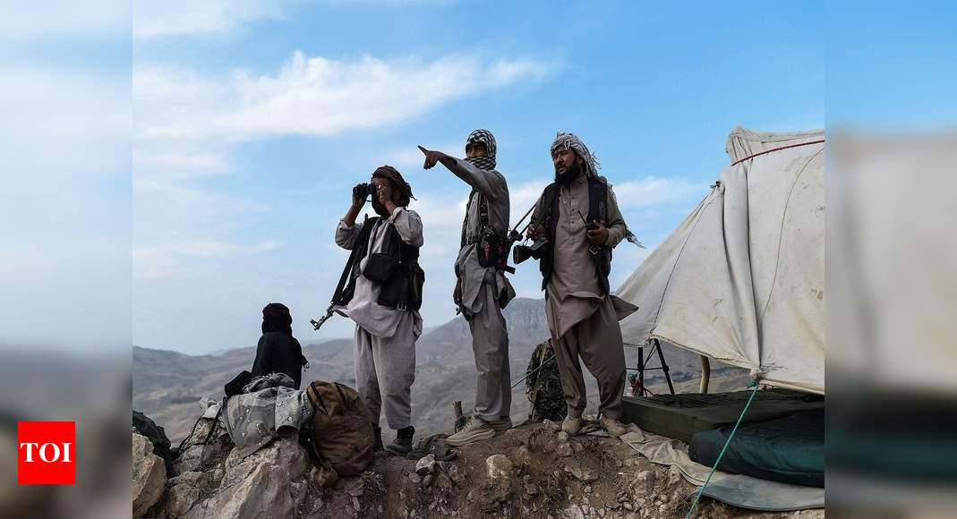 Afghanistan: Taliban demanding funds, recruiting people in Balkh – Times of India