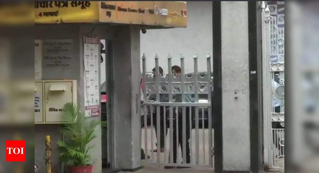 Tax department raids multiple premises of media group Dainik Bhaskar | India News – Times of India