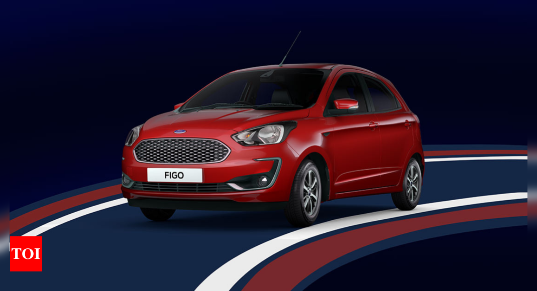 Ford Figo Automatic Price: 2021 Ford Figo automatic launched in India at Rs 7.75 lakh | – Times of India