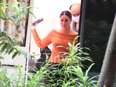 Bebo rocks orange ensembles for a shoot