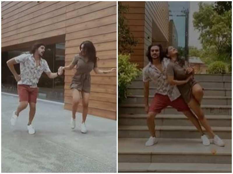 Watch: Bigg Boss fame Ramzan shakes a leg with former D4 Dance co-contestant Saniya Iyyappan for 'Kabhi Kabhi'
