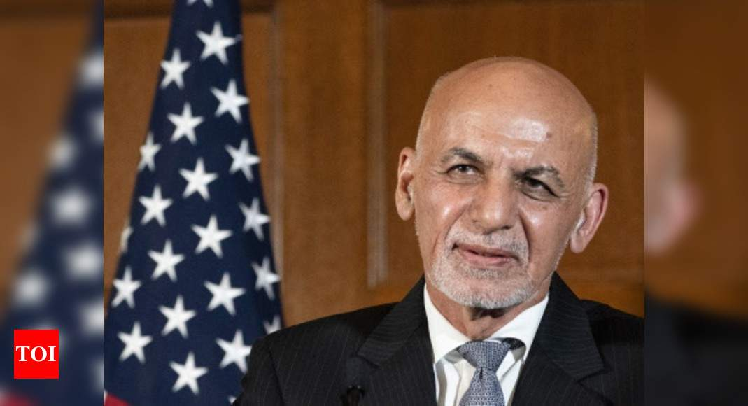 Afghanistan President Ghani lashes out at Taliban, says they have 'no will' for peace – Times of India