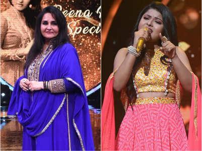 Reena Roy lip syncs to 'Sheesha ho ya dil ho'