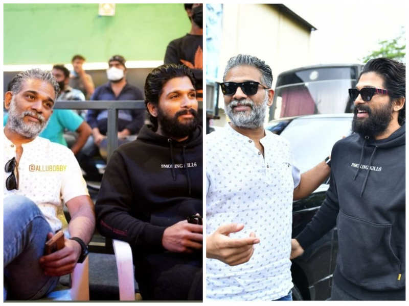 Allu Arjun on the sets of Ghani: Varun Tej Konidela is killing it in his new avatar