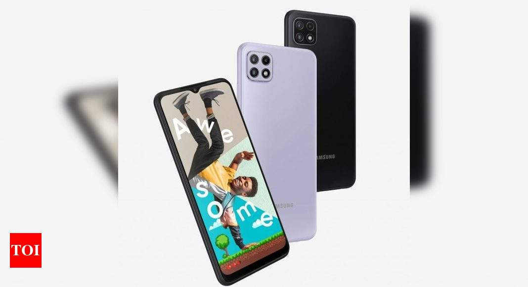 Samsung Galaxy A22 5G to launch in India today: Expected price and specifications – Times of India